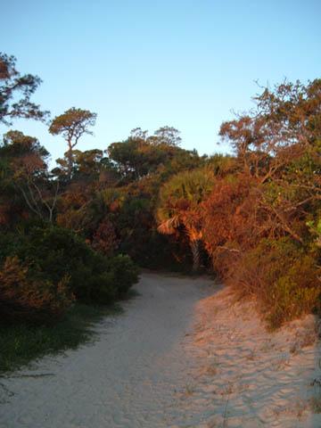 campground beach trail