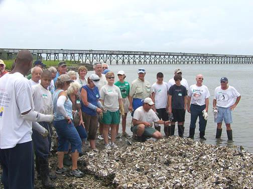 2008 oyster reef builders