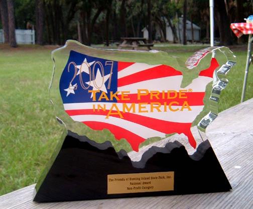 take pride in america award