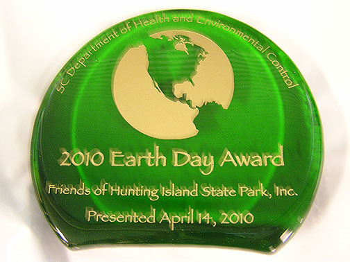 DHEC earth day award