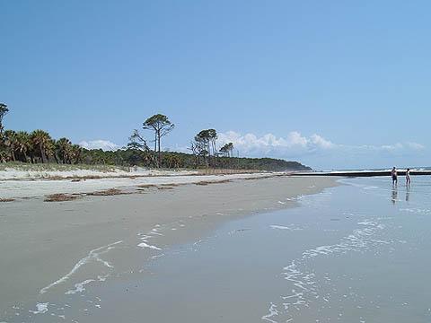 renourished beach