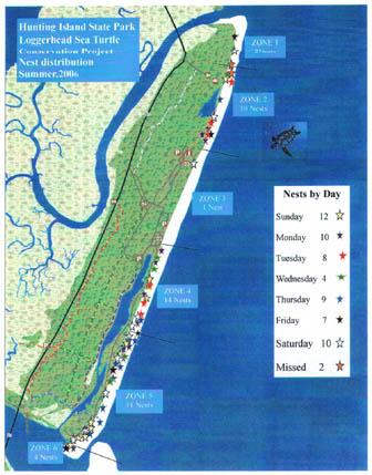 2006 nest map